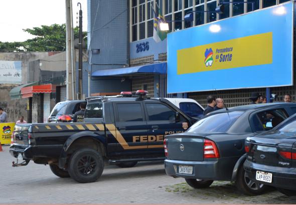 Polícia Federal fechou vários estabelecimentos. Fotos: PF/Divulgação