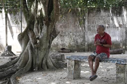 Fernando dos Santos está na unidade há 30 anos. Ele foi preso após matar a mãe, a avó e a cachorra. Fotos: Blenda Souto Maior/DP/D.A Press