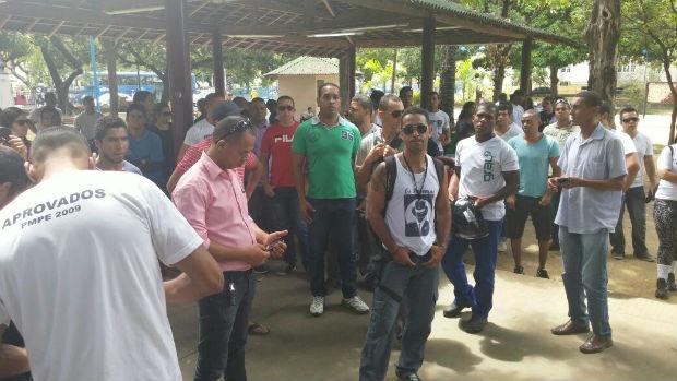 Grupo se concentrou no Parque 13 de Maio. Foto: Anônimo/Divulgação