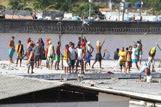 Rebelião durou três dias e deixou três mortos. Foto: Paulo Paiva/DP/D.A Press