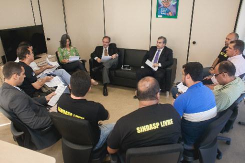 Reunião durou mais de duas horas. Foto: Mauro Filho/Divulgação