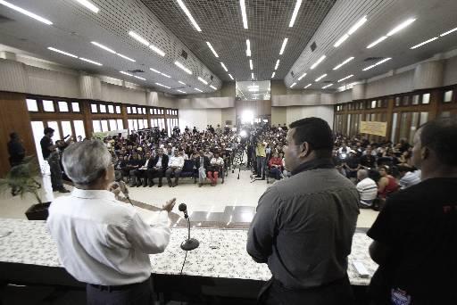 Encontro aconteceu na UFRPE. Foto: Blenda Souto Maior/DP/D.A Press