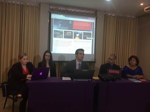 Apresentação do website aconteceu nesta quinta-feira. Foto: Wagner Oliveira/DP/D.A Press