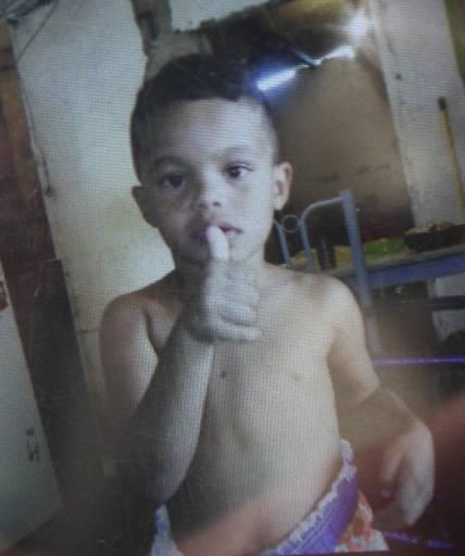 Alisson, 5 anos, morreu na hora. Familiares do garoto pedem justiça