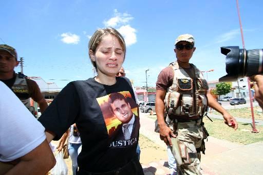 Mysheva disse que está com escolta policial desde a morte de Thiago Faria. Paulo Paiva/DP/D.A Press