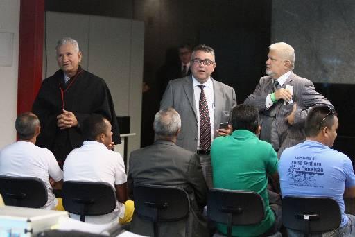 Foram condenados Cláudio Inácio Pereira e José da Silva Martins