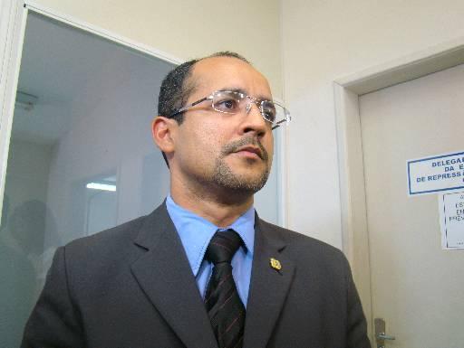 Delegado Ivaldo Pereira está hospitalizado. Foto: Alice de Souza/DP/D. A Press