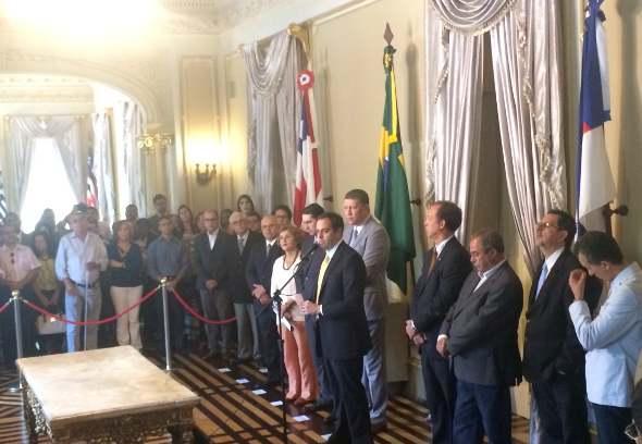 Anúncio foi feito pelo governador Paulo Câmara. Foto: Wagner Oliveira/DP/D.A Press