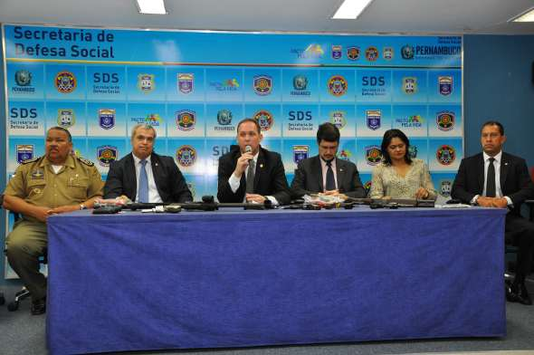 Cúpula da SDS apresentou conclusão nessa segunda-feira. Foto: SDS/Divulgação