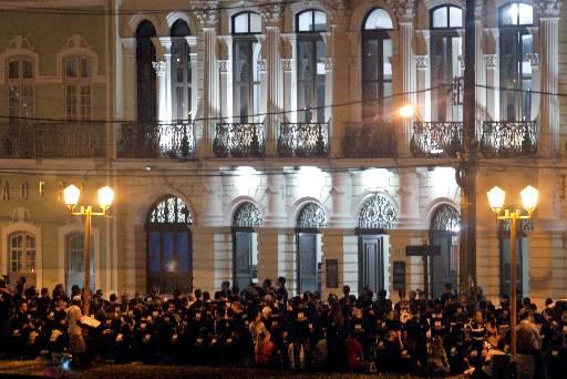 Um comissão foi recebida no Palácio do Governo ontem à noite