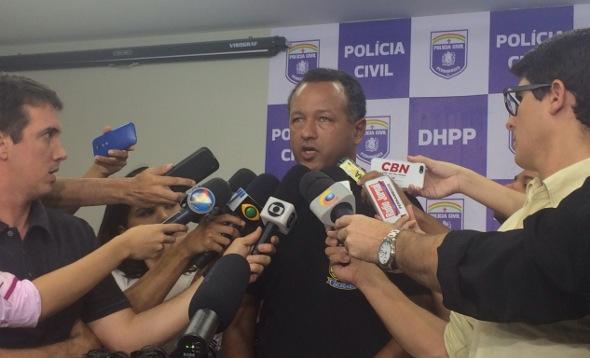 Delegado Alfredo Jorge confirmou informações do Diario nesta quarta-feira. Foto: Wagner Oliveira/DP/D.A Press