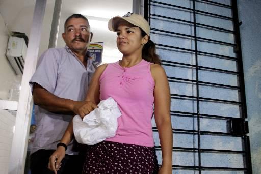 Vaniela Oliveira contou à polícia onde esteve por quatro dias. Foto: Brenda Alcantara/Esp DP/D.A Pres