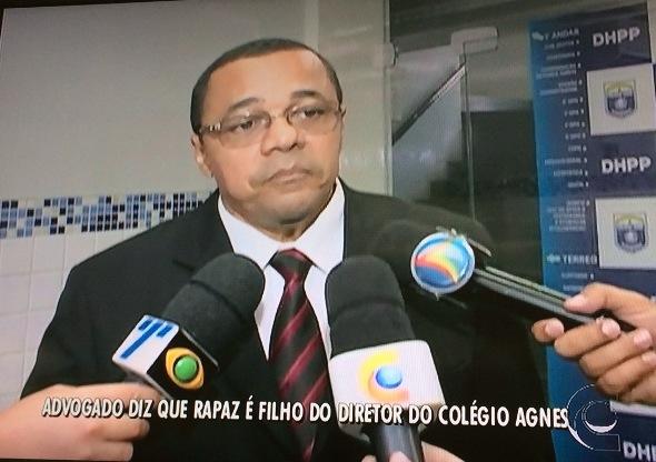 Delegado esteve no DHPP nesta quinta-feira. Foto: Reprodução/TV Clube