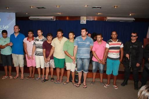 Suspeitos estão detidos no estado do Pará. Fotos: Policia Civil do Para/Divulgação