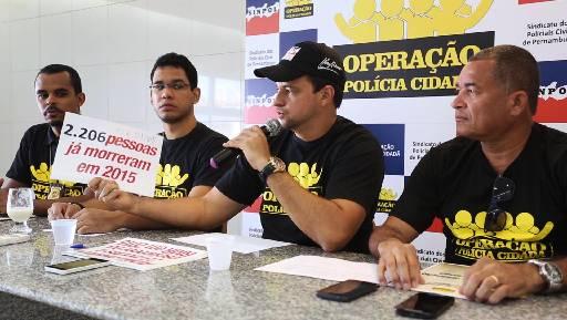 Aúreo Cisneiros rebateu números da SDS. Foto: Sinpol/Divulgação