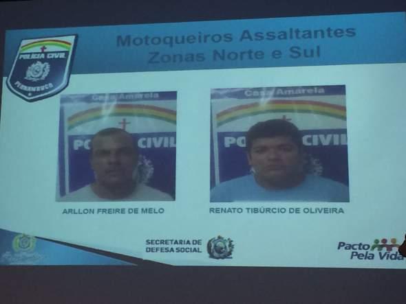 Suspeitos foram levados para o Cotel. Fotos: Wagner Oliveira/DP/D.A Press