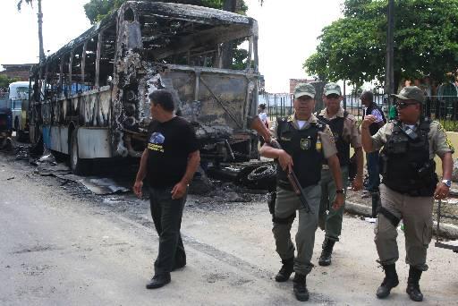 Policiamento foi reforçado na comunidade após os atos de vandalismo