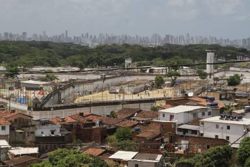 Confusão no Complexo Prisional resultou na morte de um vizinho da unidade. Fotos: Roberto Ramos/DP/D.A Press