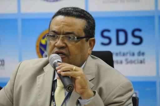 Damázio já foi superintendente da PF e secretário da SDS. Foto: Teresa Maia/DP/D.A.Press