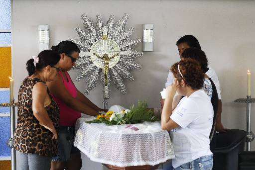 Foto: Corpo de Ricardo foi velado e sepultado ontem. Foto: Rodrigo Silva/Esp.DP/D.A Press