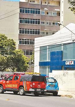 CEF de Casa Caiada foi alvo de investida nessa quinta-feira. Foto: WhatsApp/Divulgação