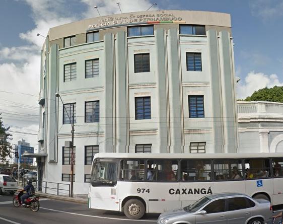 Aulas acontecerão no prédio azul da Polícia Civil. Foto: Google Street View