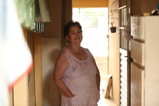 Luzinete Ribeiro diz que hoje vive no paraíso. Foto: Hesiodo Goes/Esp. DP/D.A Pres
