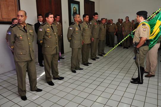 Passagem dos comandos aconteceu ontem. Foto: SDS/Divulgação