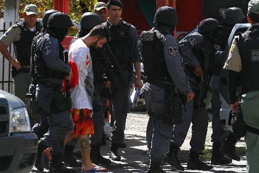 Suspeito foi preso após assassinar Danielle. Foto: Annaclarice Almeida/DP/D.A Press
