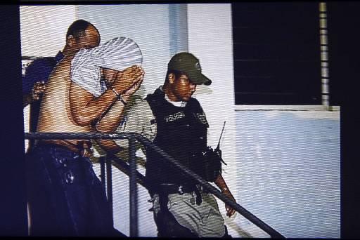 Suspeito confessou crime e foi levado para o Creed. Foto: Reprodução/TV Clube