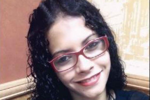 Karina tinha 26 anos e traabalhava na casa do suspeito. Foto: Polícia Civil/Divulgação