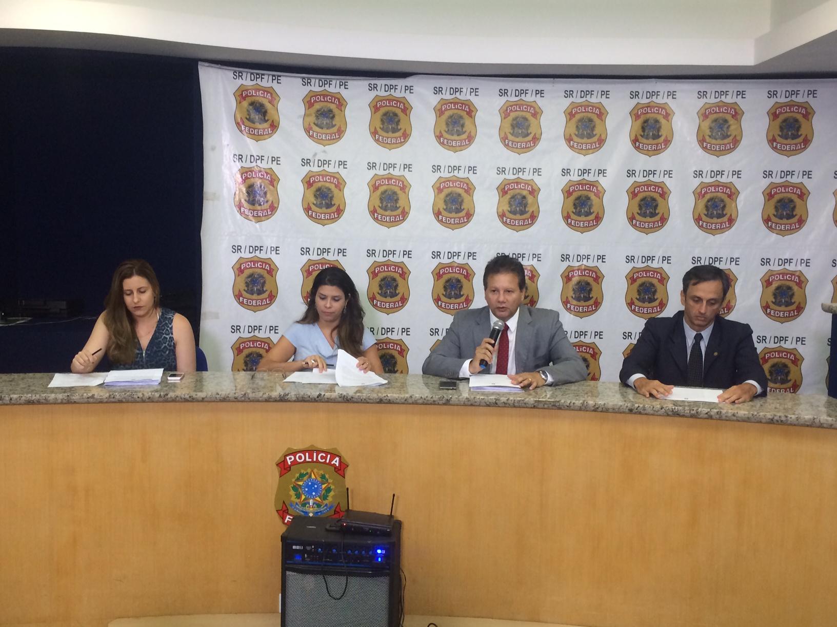 Detalhes da operação foram revelados em entrevista coletiva. Foto: Wagner Oliveira/DP