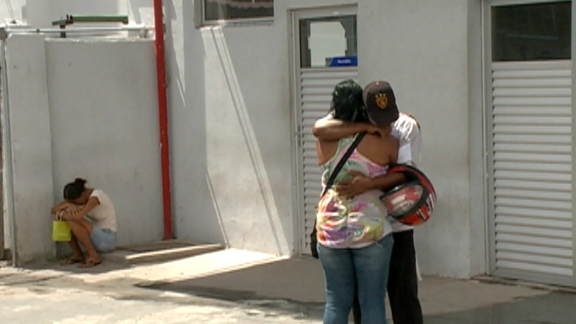 Parentes da vítima estão revoltados. Foto: TV Clube/Reprodução
