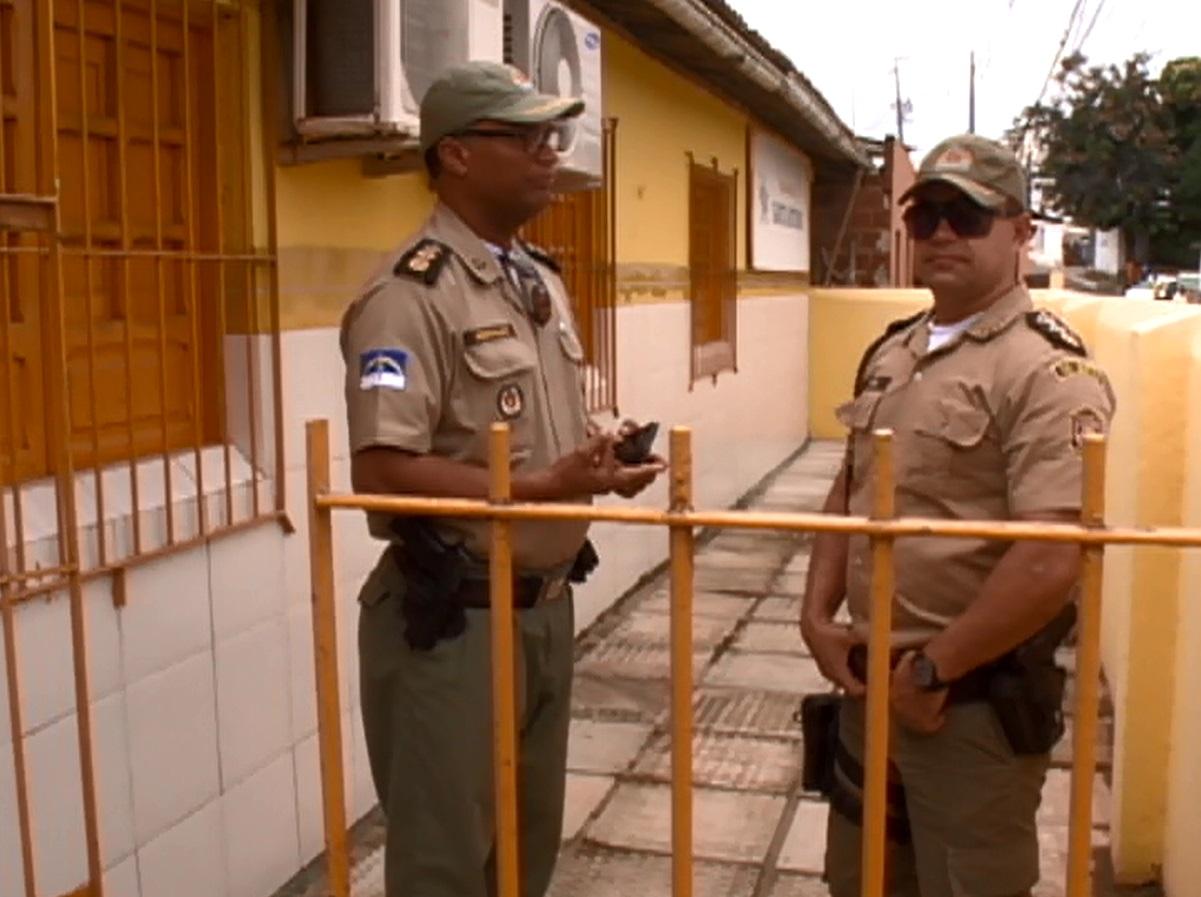 Menina foi atingida quando estava na escola. Foto: Reprodução/TV Clube