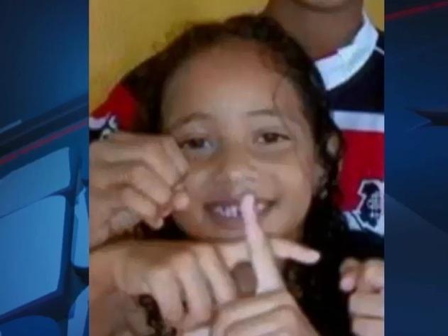 Larissa Raquel tinha oito anos. Foto: