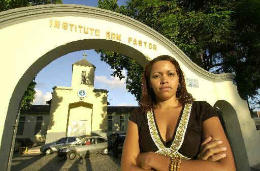 Lúcia Silvania deixou a prisão em 2006, quando deu entrevista sobre o caso. Foto: Teresa Maia/DP/Arquivo