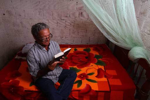 Severino Antero, 68 anos, passou 20 dias preso injustamente. Foto: Peu Ricardo/Esp.DP