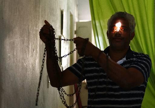 Jorge Luiz conseguiu soltar o filho. Foto: Peu Ricardo/Esp.DP