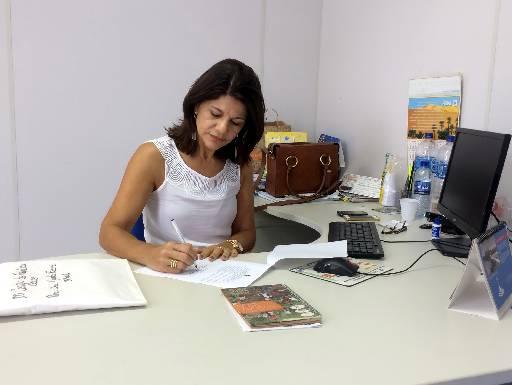 Delegada Marta Rosana Foto: Wagner Oliveira/DP