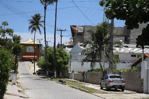 Casa inexistente nesta rua foi colocada em anúncio. Foto: Julio Jacobina/DP