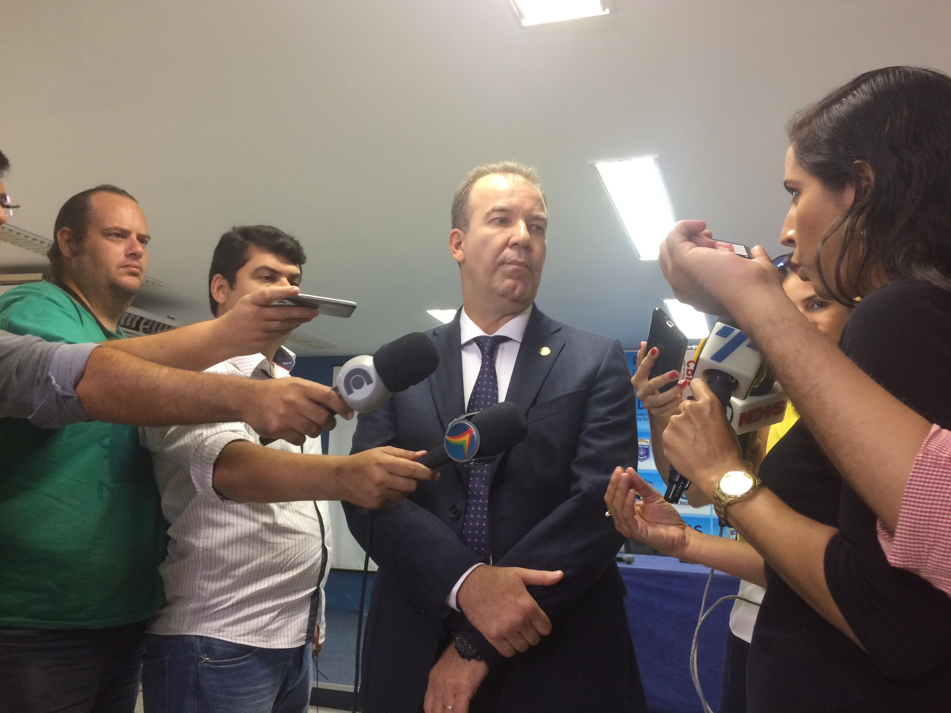 Angelo Gioia falou sobre as mudanças na tarde desta sexta-feira. Foto: Wagner Oliveira/DP