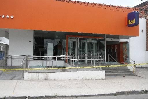Grupo conseguiu atacar duas agências bancárias: Julio Jacobina/DP
