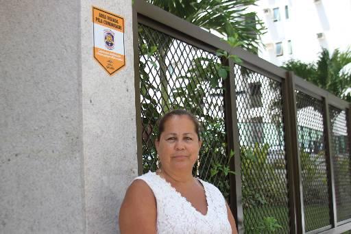 Rosana Melo diz que o projeto tem ajudado a mudar rotina da localidade