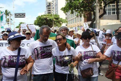 Pais de Mirella participarão da celebração. Foto: Julio Jacobina/DP