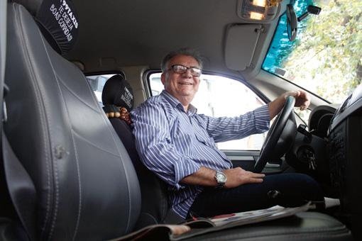 Taxista comprometido