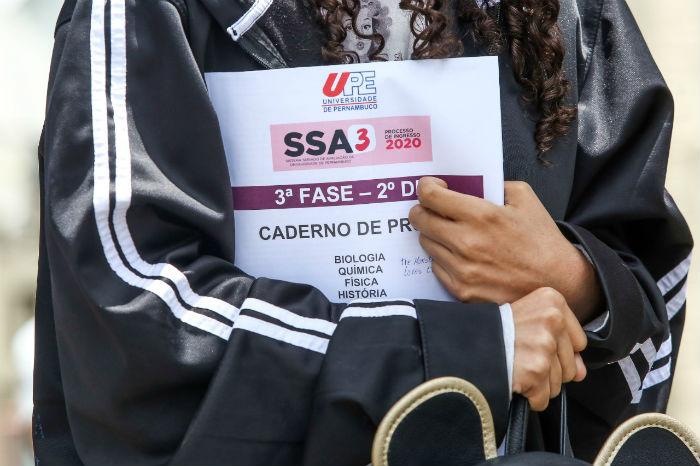 Feras da UPE já podem imprimir cartão informativo do SSA3